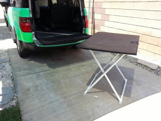 Honda Element Table >> Pvc Table Leg Mod Honda Element Owners Club Forum