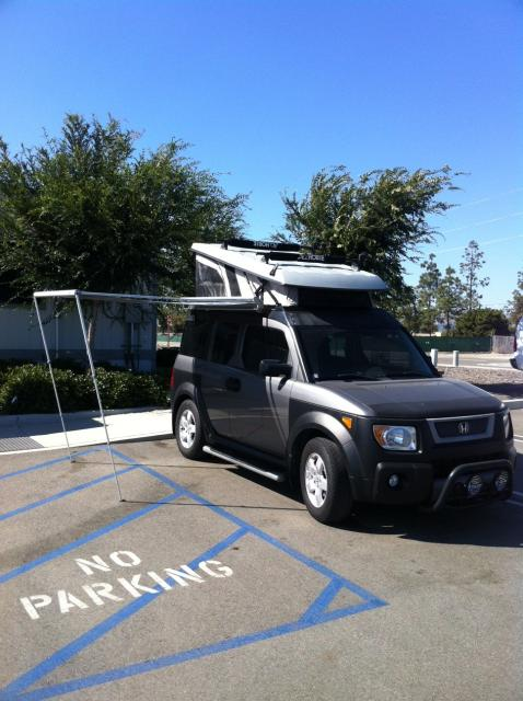 Fs 2005 Honda Element Ex All Wheel Drive With Ursa Minor Ecamper