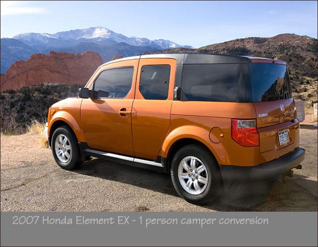Honda Element Conversion >> 1 Person Camper Conversion Honda Element Owners Club