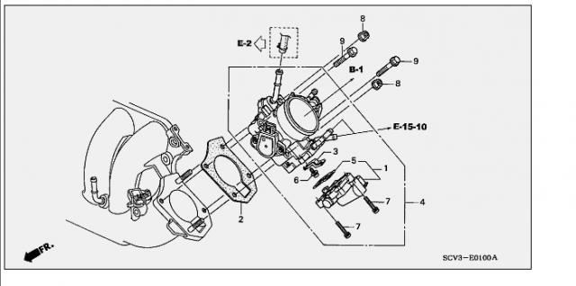 idle air control valve (2003-06)   Honda Element Owners Club