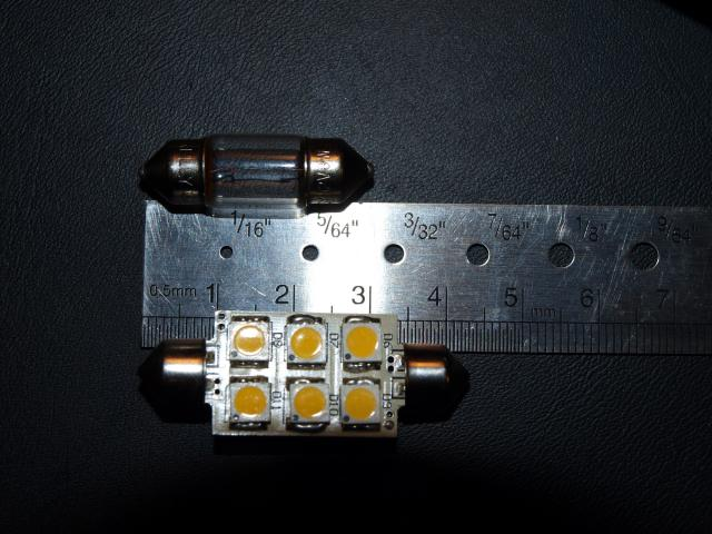 12 Piece Type S LM50727-60//6 Blue Super Bright LED Replacement Light