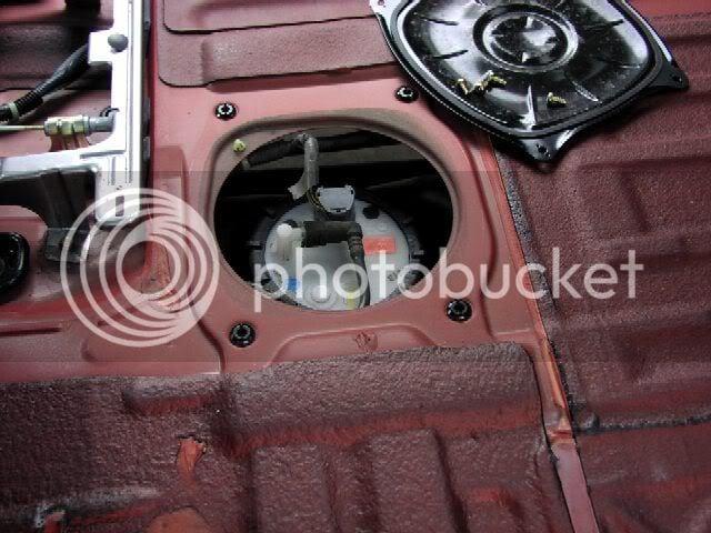 fuel tank filter sender  pump location problems