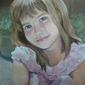 Leah done in pastel