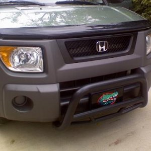 Painted Front grill and new black garnish. Thats a Super Hunter Bull Bar!