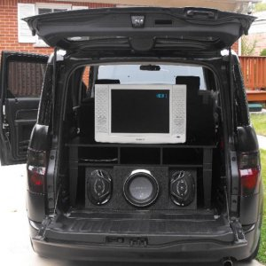 LCD TV for tailgating or whatever.