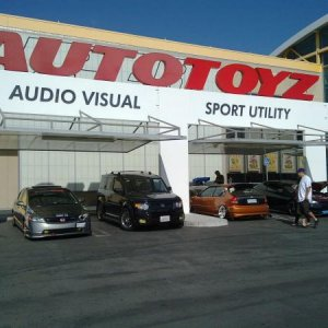 Up front and center @ AutoToyz 10.24.2009