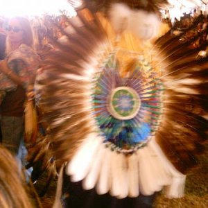 "I'm A Native American Org From long Island ""Shinnecock Tribe"" and i Travel to as many other Pow Wows I can, Phoebe and i this Pix is (Mastuc"