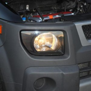 This is my Head light mod with no blinker on... I know I need some HID's