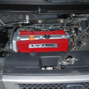 The RED i-VTEC Mod its a really simple mod to do and it really makes your engine area look great!!!!