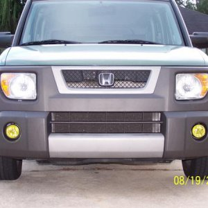 Fog lights: JDM yellow