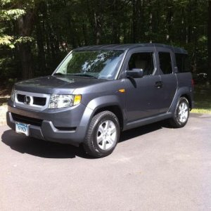 My Brand New 2010 Element, First Day of Ownership