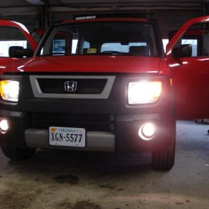 Fog lights just installed, and they work great!