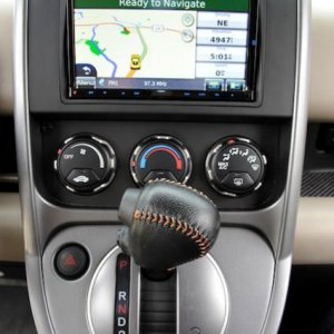 Element GPS main and shifter