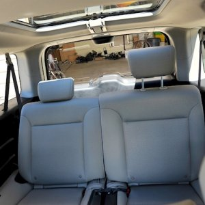 Element  rear seats