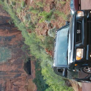 """E-Tronika"" enjoying Zion National Park"