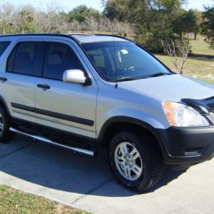 Our 2002 CRV ...great vehicle ....presently 135 k miles...Update Feb 2013 sold at 147 k miles...rear main seal going and chronic brake problem they co