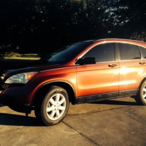 CRV EX 2007 58k original miles , auto ,  purchased 10-2013